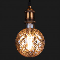 Светодиодная лампа BL155 Globe 8W 2700K E27 Prisma (G125 тонированная)