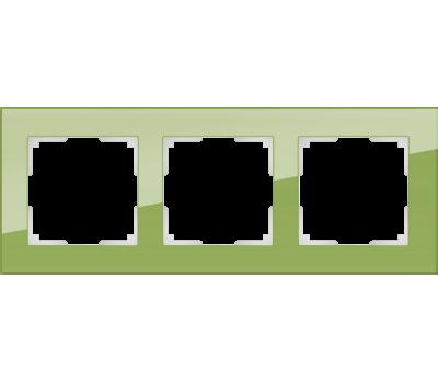 Рамка на 3 поста Werkel Favorit WL01-Frame-03 (цвет Фисташковый)