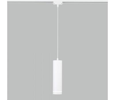 Трековый светодиодный светильник для однофазного шинопровода 50163/1 LED белый