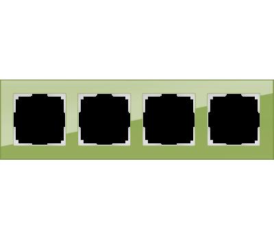 Рамка на 4 поста Werkel Favorit WL01-Frame-04 (цвет Фисташковый)