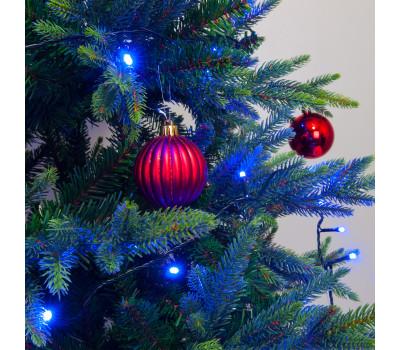 Новогодняя гирлянда нить 400-002 голубой