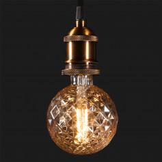 Светодиодная лампа BL154 Globe 4W 2700K E27 Prisma (G95 тонированная)